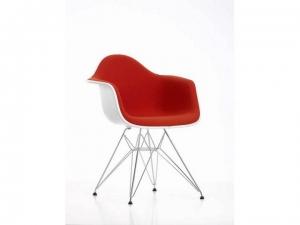Eames Plastic Armchair EPA DAR w całości tapicerowane