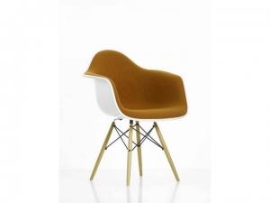 Eames Plastic Armchair EPA DAW w całości tapicerowane