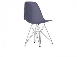 Eames Plastic Chair EPC DSR w całości tapicerowane