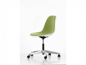 Eames Plastic Chair EPC PSCC  w całości tapicerowane