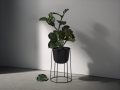 Donice Wire Pot Black - menu - wire pot 112.jpg