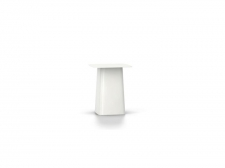 PROMOCJA Metal Side Table - Outdoor, rozm. S -White, NOWY! - Vitra