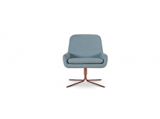 Fotel Coco Swivel Chair with copper - Softline