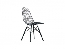 Wire Chair DKW Black - Vitra