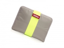 PROMOCJA Tuxedo Tablet Taupe/Yellow - Fatboy