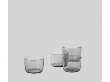 Szklanki Corky Glasses Low - grey - muuto