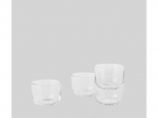 Szklanki Corky Glasses Low - clear - muuto