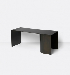 Ławka Place Bench - Black - Ferm Living