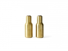 Bottle Grinder - Brushed Brass - menu