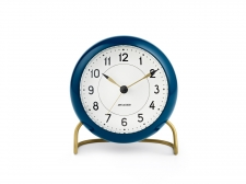 Arne Jacobsen Station Table clock blue - budzik - Rosendahl
