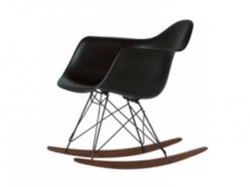 Fotel EPA RAR (Eames Plastic Armchair) Black Collection - Vitra