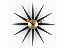 Sunburst Clock Black - Vitra