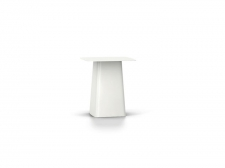 PROMOCJA Metal Side Table - Outdoor, rozm. M - White NOWY! - Vitra