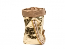 Carry Bag One Metalic Gold - torba papierowa - UASHMAMA