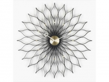 Sunflower Clock Black - Vitra