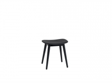 Stołek Fiber Stool - Wood base, h 45 cm - muuto