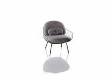 fotel Pina Low Chair- outdoor - Magis