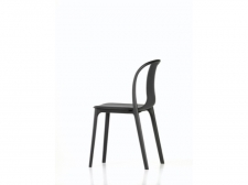 Belleville Chair - black/oak - Vitra