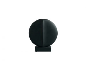 Guggenheim Vase Mini - Black - wazon