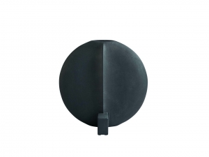 Guggenheim Vase Big Black - wazon