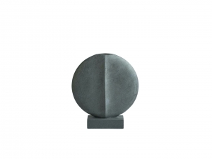 Guggenheim Vase Mini Dark Grey - wazon