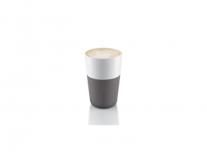 Cafe Latte Tumbler - Elephant Grey - kubek 2 szt.
