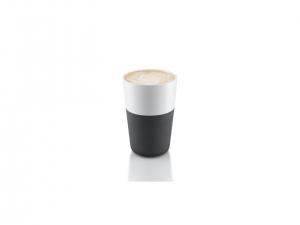 Cafe Latte Tumbler - Carbon Black - kubek 2 szt.