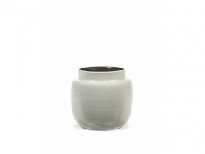 Flower Pot S light grey - doniczka