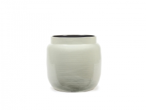 Flower Pot M light grey - doniczka