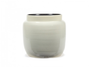 Flower Pot L light grey - doniczka