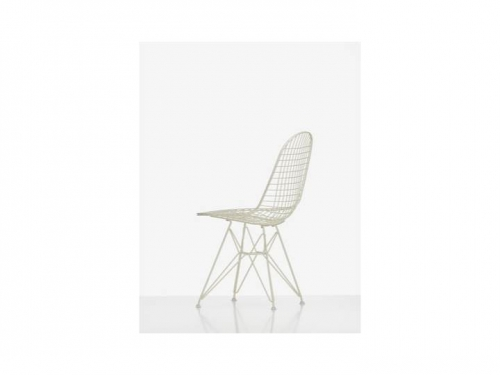 Wire Chair DKR - Vitra - Wire Chair DKR cream
