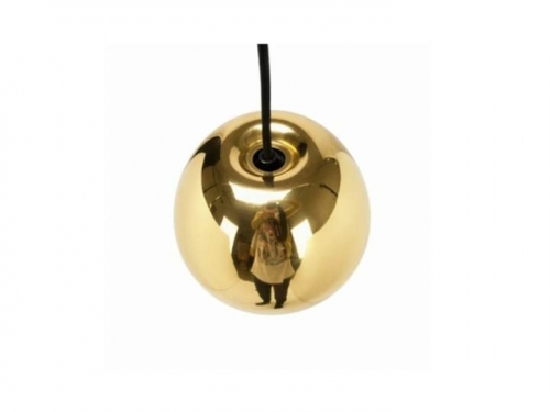 Void - lampa wisząca - Tom Dixon - Void Mini Brass02.jpg