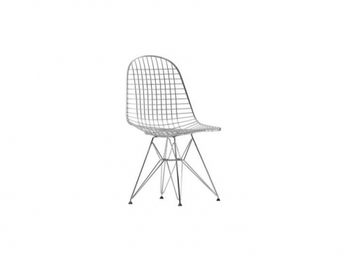 Wire Chair DKR - Vitra - Wire Chair DKR chrom