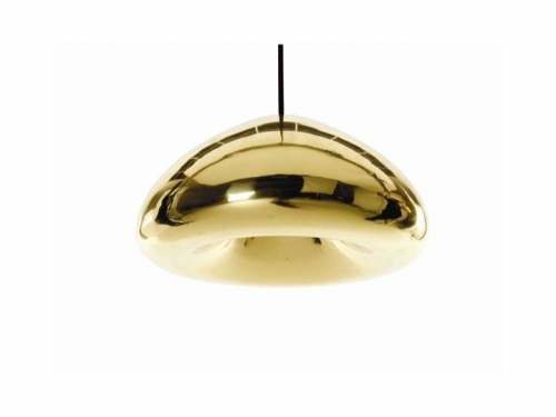 Void - lampa wisząca - Tom Dixon - Void Light Brass03.jpg