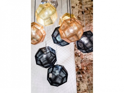 Etch Light Web Stainless Steel - Tom Dixon - 7e3d1c39dbbe2532936ffd526a905fcfe2ccdf4b