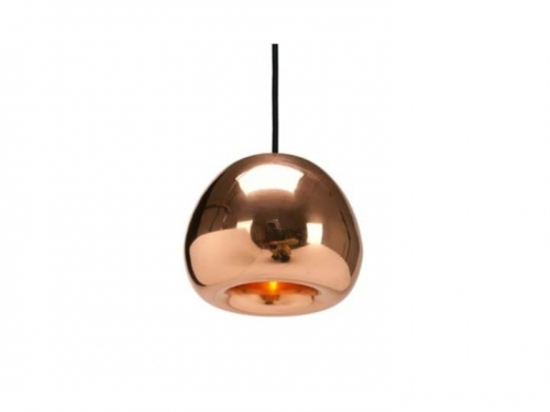 Void - lampa wisząca - Tom Dixon - Void Mini Copper02.jpg