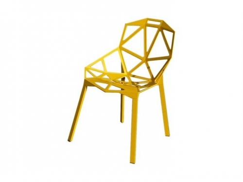 Chair One na nogach - Magis - chair one yellow01.jpg