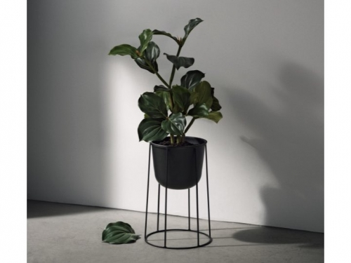 Donice Wire Pot Black - menu - wire pot01.jpg