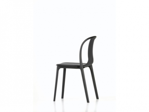 Belleville Chair - black/oak - Vitra -