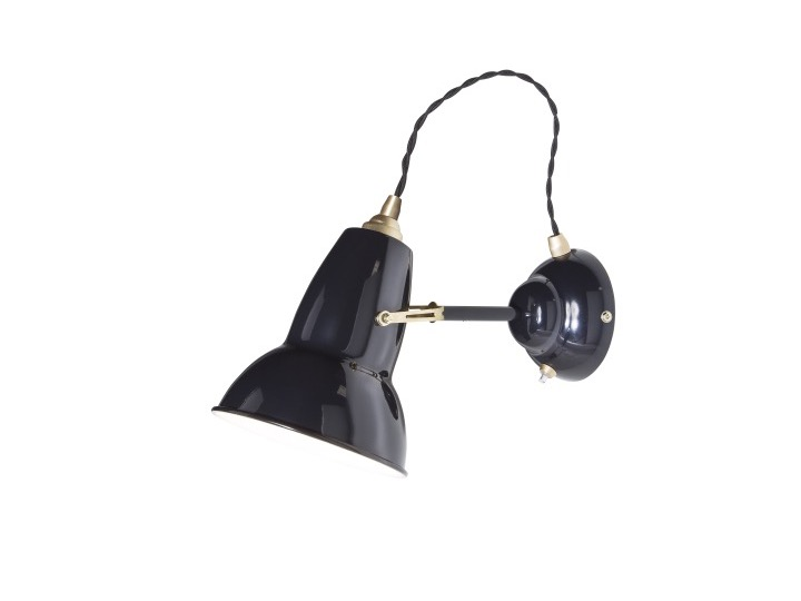 Original 1227? Brass Wall Light - kinkiet