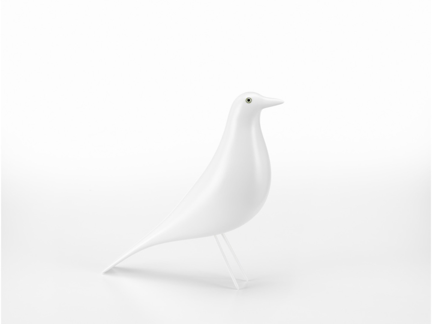 Eames House Bird White - limited edition