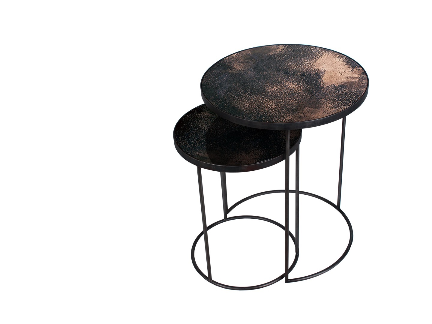 Stoliki Round Nesting Side Table - SET 2 - Notre Monde