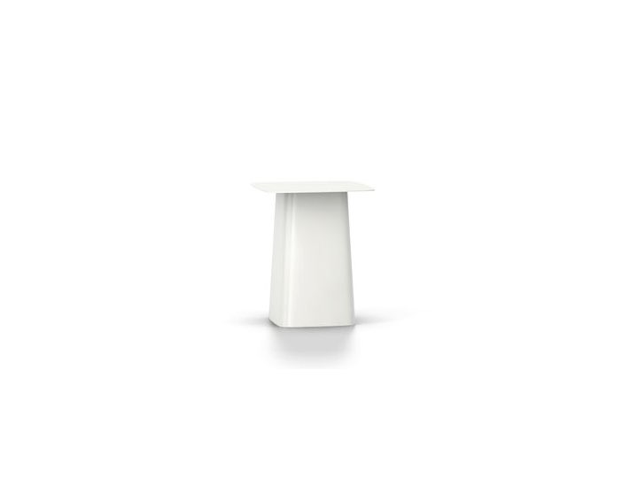 PROMOCJA Metal Side Table - Rozm. S, White - Vitra
