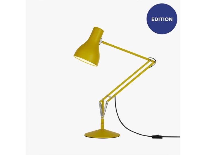 Type 75? Desk Lamp - Margaret Howell - Yellow Ochre Edition - lampa biurkowa