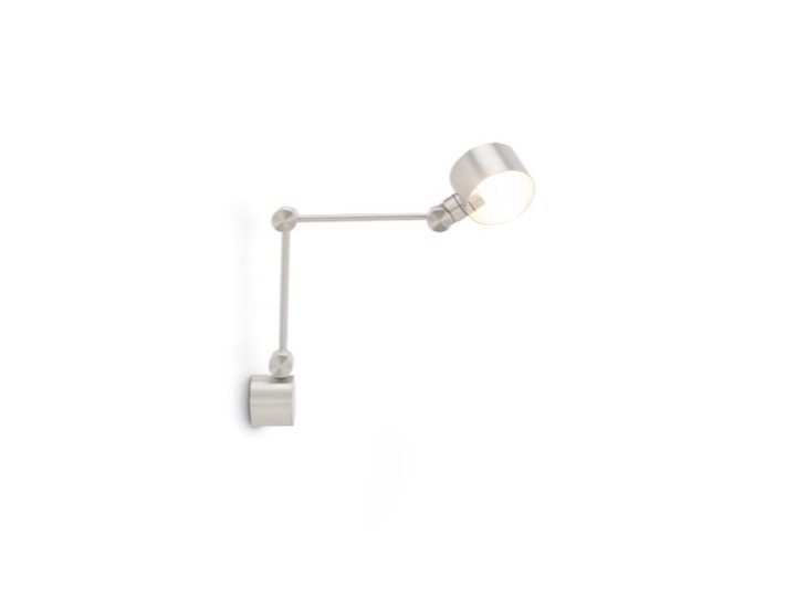 Boom Wall Light Aluminium