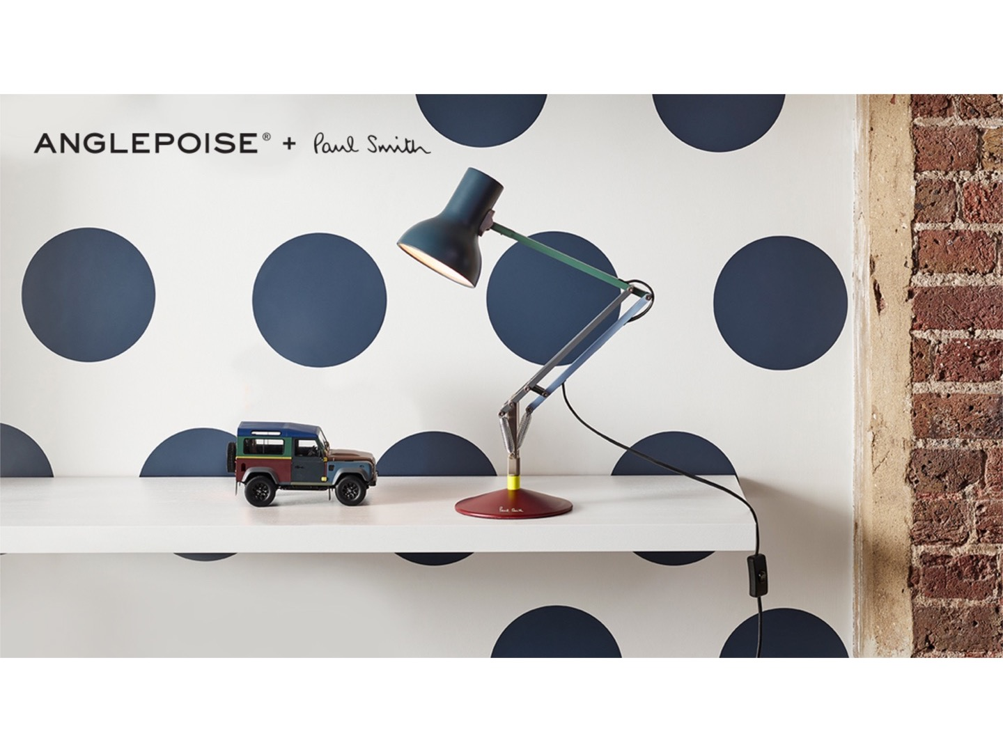 Type 75? Desk Lamp Anglepoise? + Paul Smith edition four - lampa biurkowa