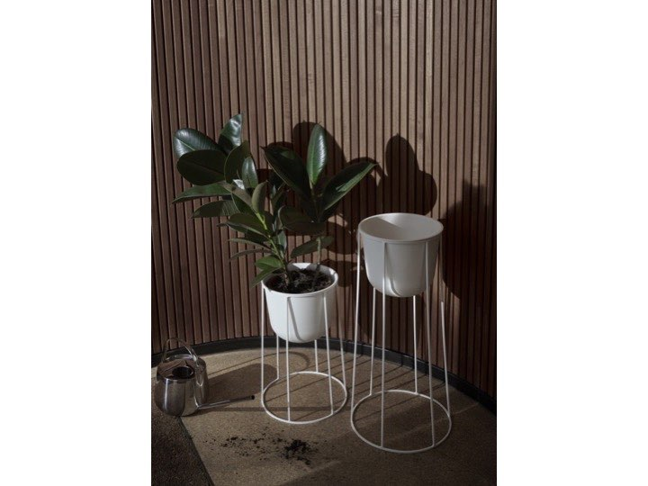 Donice Wire Pot White