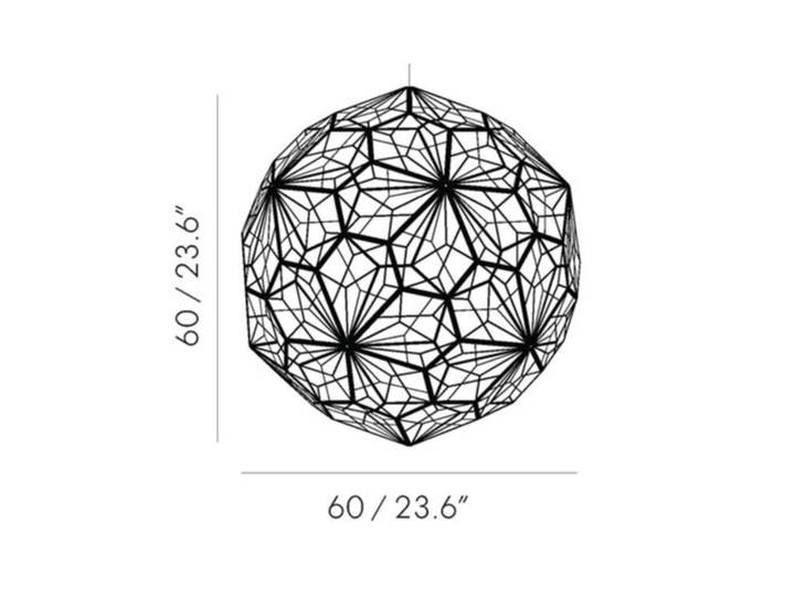 Etch Light Web Stainless Steel - Tom Dixon