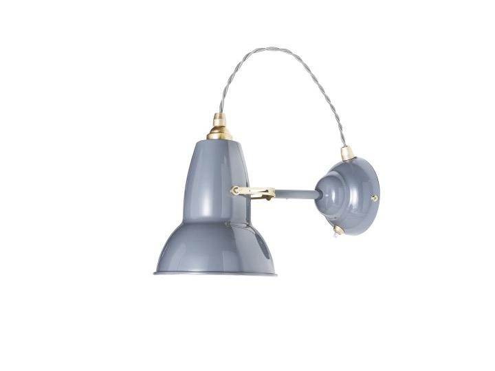 Original 1227? Brass Wall Light - kinkiet - Anglepoise