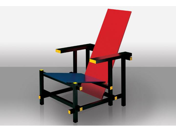 634+635 Red and blue - Cassina